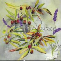 Carte Lizzie En Provence Olives et Lavandes