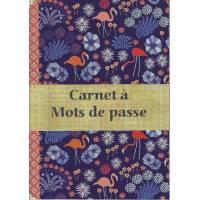 Carnet à mots de passe Gwenaëlle Trolez Flamants