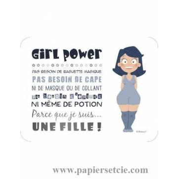 "Carte Barbara Formosa ""Girl Power"""