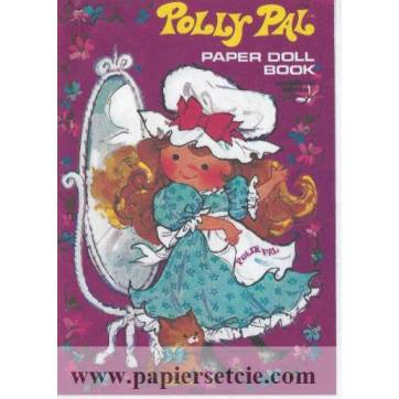Poupée à découper et habiller Polly Pal