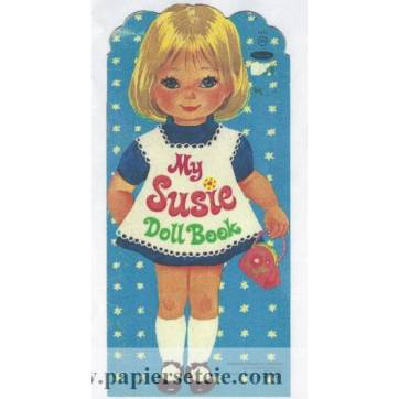 Poupée à découper et habiller My Susie