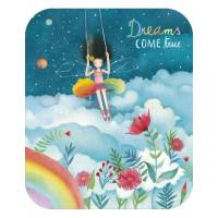 "Carte format ""Ecran"" Mila ""Dreams come true"""