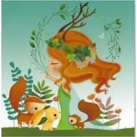 Carte Elen Lescoat La Fée de la Forêt