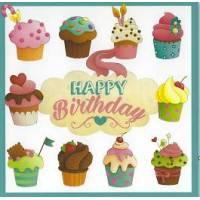 Carte Anniversaire Enfants Elen Lescoat Les Cupcakes