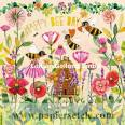 """Carte Mila Marquis """"Happy Bee Day"""""""