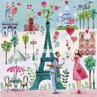 Carte Mila Marquis La jeune femme à Paris