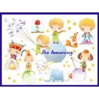 Carte Anniversaire enfants Bon Anniversaire  le Prince