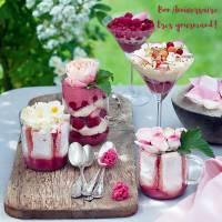 """Carte Anniversaire """"Bon Anniversaire très gourmand"""" Desserts fruités"""