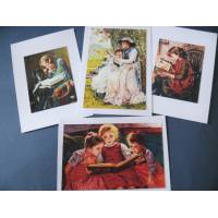 Cartes enfants, Lecture d'enfants 2, paquet de 4 cartes assorties