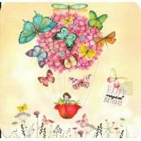 "Carte Anniversaire Mila Gablasova ""Butterrflies"""