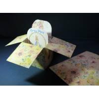 Carte de Pâques 3 D Pop Up DIY à monter soi-même Beatrix Potter