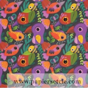 Carte Elen Lescoat Bon Anniversaire Les oiseaux