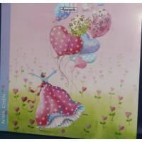 Calendrier 2022 16 x16 Nina Chen Les Ballons Coeurs
