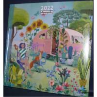 Calendrier Mila Marquis 2022 30 x 30 Le Van en Vacances
