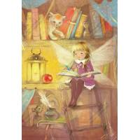 Carte Anniversaire Enfants KB Fée des Livres