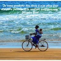 """Citation sur la Vie """"Je vous souhaite des rêves à n'en plus finir""""..."""