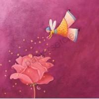 Carte Marie Cardouat Les filles naissent dans les roses