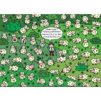 Carte Lali Trouve le mouton à 5 pattes et le trèfle à 4 feuilles!