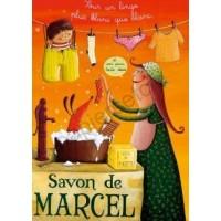 Carte Amandine Piu Savon de Marcel