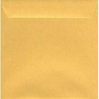 Enveloppe carrée dorée