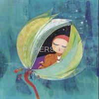 Carte Muriel Kerba Bébé dort