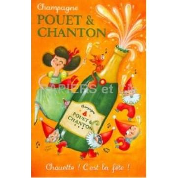 Carte Amandine Piu Pouet et Chanton