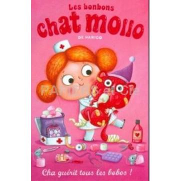 Poster Affiche Amandine Piu Chat Mollo