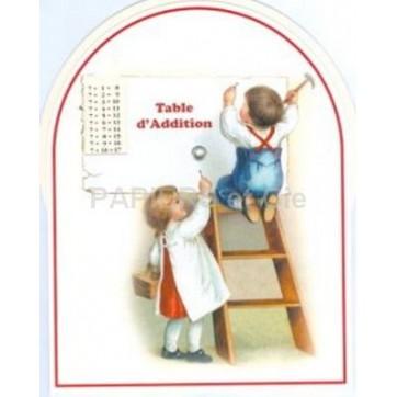 Disque table d'addition D 14
