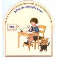 Disque table de multiplication D 16