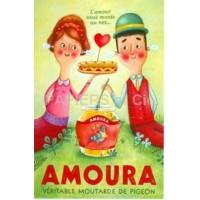 Carte Amandine Piu  Amoura