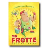 Poster Affiche Amandine Piu Monsieur Frotte