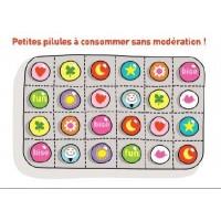 Carte Sophie Dollé Petites pilules à consommer sans modération