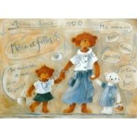 Carte Joelle Wolff Mère et filles