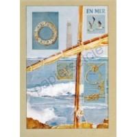 Carte Laurence David En mer