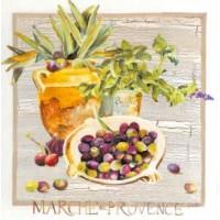 Carte Lizzie Marché de Provence