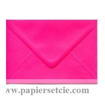 Enveloppe rectangulaire Fushia