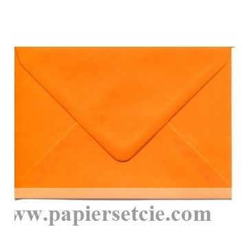 Enveloppe rectangulaire orange