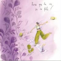 Carte Anne-Sophie Rutsaert Parce que la vie ça se fête!