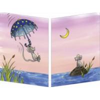 Carte Sophie Turrel Le parapluie étoilé