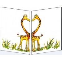 Carte Sophie Turrel Les Girafes