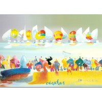 Carte Charles Cambier Régates