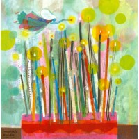 Carte Muriel Kerba Gateau et Bougies