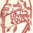 "Carte Florence Weizer  ""I will always love you"""