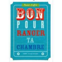 Carte postale Bon Pour Ranger ta chambre