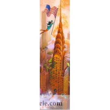 Marque Pages Marie-Anne Fouquart Chrysler Building NYC
