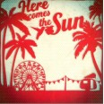 """Carte Florence Weizer """"Here comes the sun"""""""