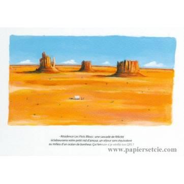 Carte humoristique Olivier Tallec Grand Canyon