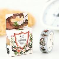 Masking Tape Washi Tape  Nature romantique