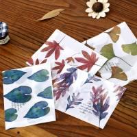 Pack de 8 enveloppes cadeaux papier calque imprimé