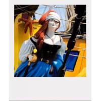Carte format Polaroïd Frédéric Buxin Figure de Proue Etoile du Roy